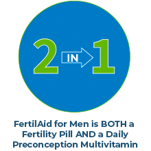 FertilAid for Men - A 2-in-1 Formulation