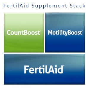 FertilAid Supplement Stack