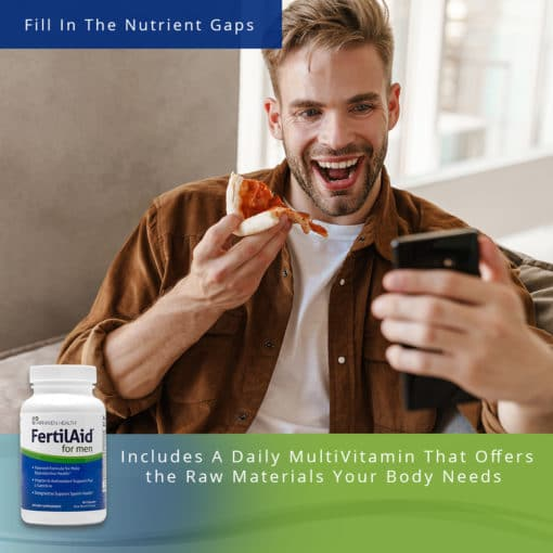 FertilAid for Men Nutrient Gaps