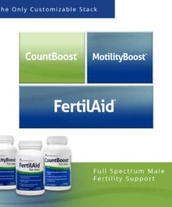 FertilAid for Men Supplements Stack