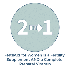 FertilAid for Women Is a Fertility Supplement AND a Complete Prenatal Vitamin