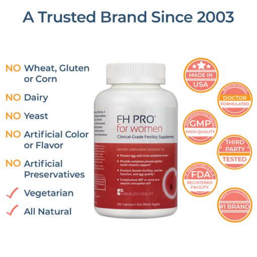 FHPRO for Women All Natural and Vegetarian