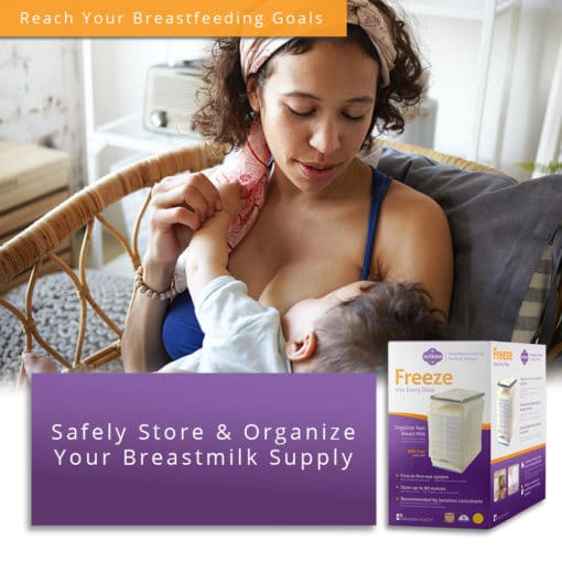 Milkies Freeze - Safely Store & Organize Your Breastmilk Supply