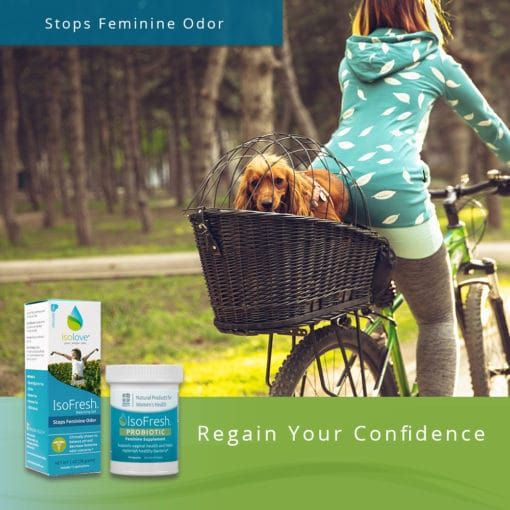 IsoFresh Gel & Probiotic Combo - Stops Feminine Odor