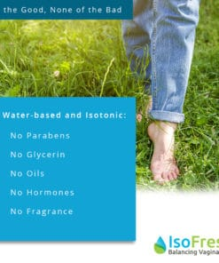 IsoFresh Balancing Vaginal Gel - Water-based and Isotonic