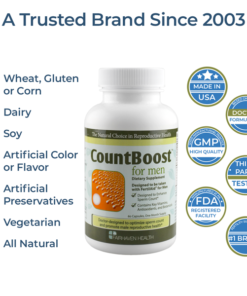 CountBoost All Natural and Vegetarian