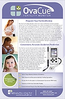 OvaCue Fertility Monitor Brochure