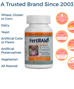 FertilAid Women All Natural Non GMO