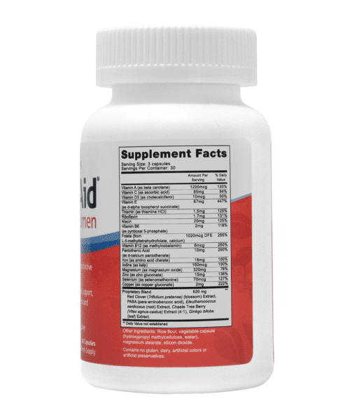 FertilAid for Women L10 Supplement Facts