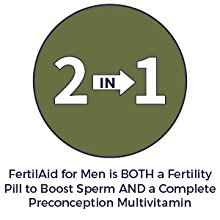 FertilAid for Men: 2 in 1 Formula