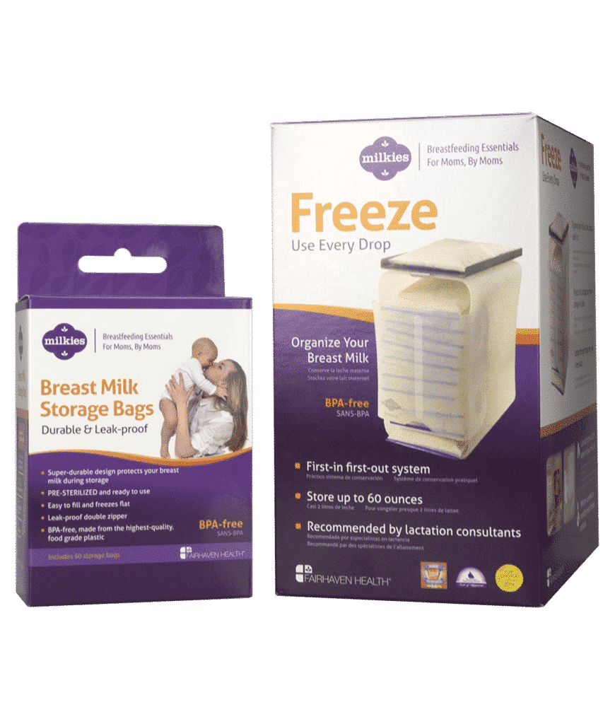 Milk Storage Bundle Freeze Bags