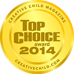 Milkies Freeze Creative Child Magazine Top Choice Award 2014