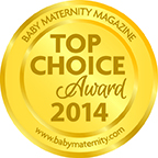 Milkies Freeze Baby Maternity Magazine Top Choice Award 2014