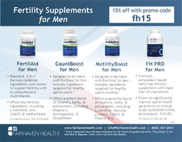 Fertility Supplements Men