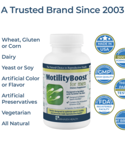 MotilityBoost All Natural and Vegetarian
