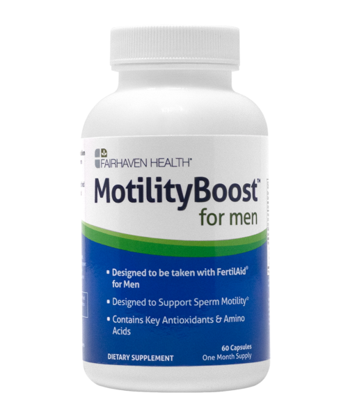 MotilityBoost for Sperm Motility Support