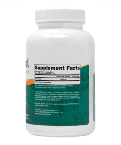 Myo-Inositol Supplement Facts L05