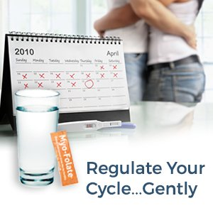 Myo-Folate: Regulate Your Cycle Gently