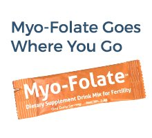 Myo-Folate Goes Where You Go