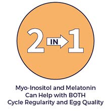 2 in 1: Myo-Inositol and Melatonin