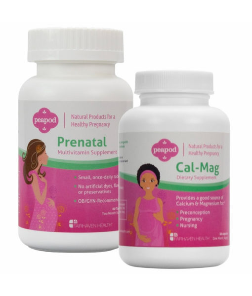 PeaPod Prenatal and CalMag Bundle