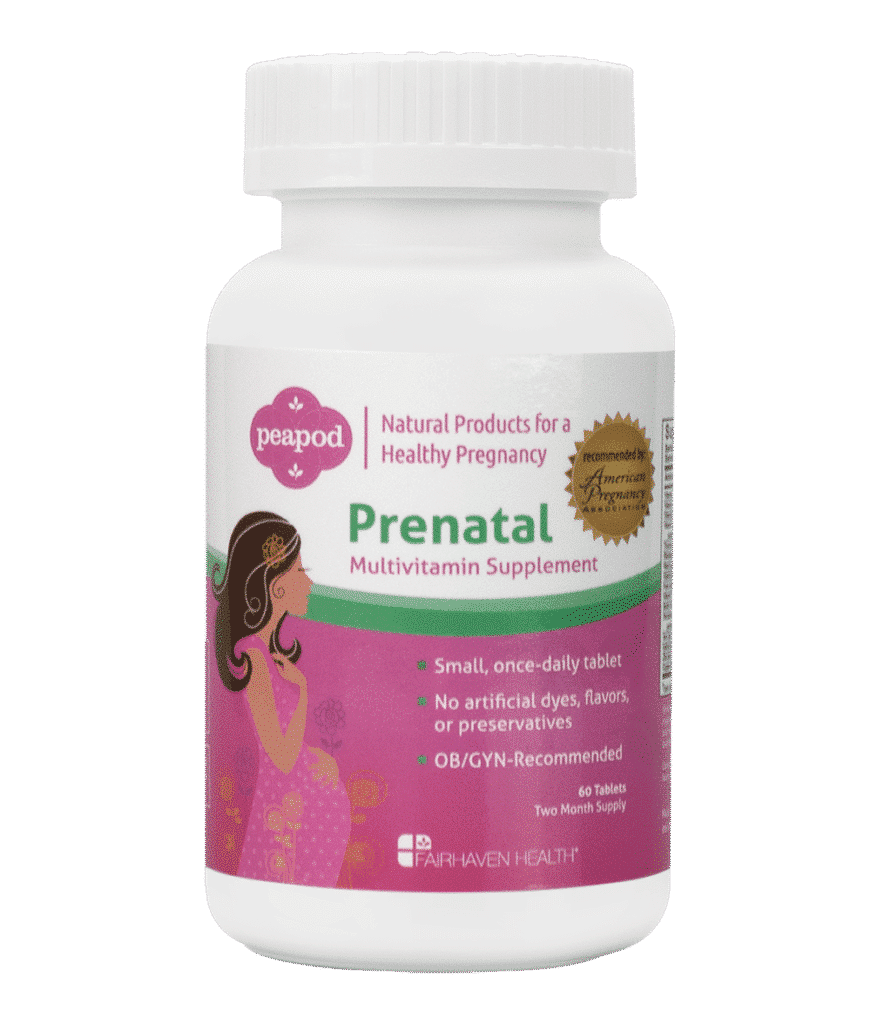prenatal vitamins | peapod - all natural pregnancy supplements