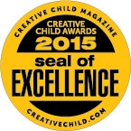 Milkies Softies Creative Child Magazine Seal of Excellence 2015